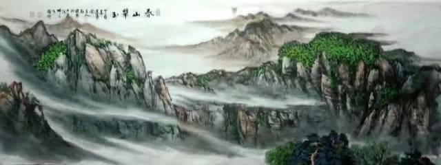 中国山水画的特点是什么?