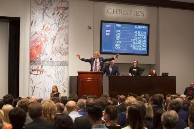 解读市场怪现象:拍卖行情看涨,但为何当代艺术反而下滑近?