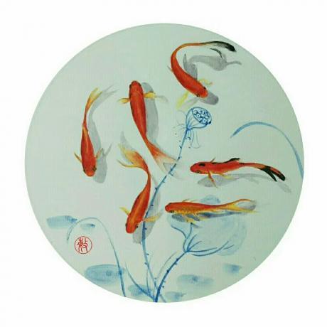 《小红鱼系列(3幅)》