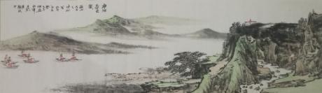 《净湖春色图》