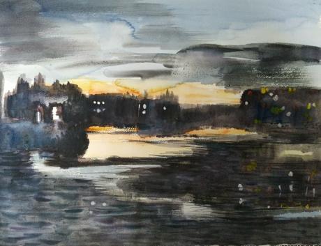 《赛纳河之夜》
