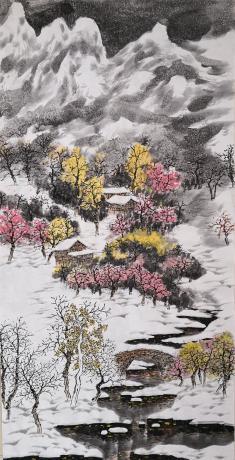《江南瑞雪》