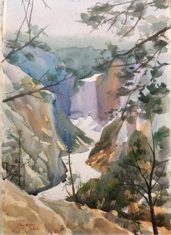 美国风景系列之三(大峡谷)