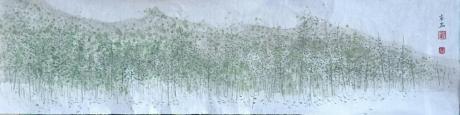《春山生草木》